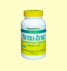 Nutri-zyme - Natures Plus - 90 comprimidos masticables