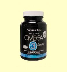 Omega 3 Complete - Complejo con EPA y DHA - Natures Plus - 60 perlas