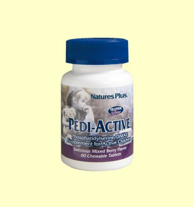 Pedi-Active - Natures Plus - 60 tabletas