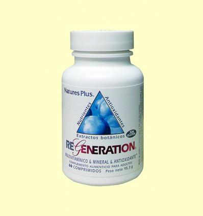 Regeneration - Complejo vitamínico - Natures Plus - 60 comprimidos