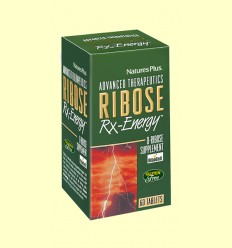 Ribose Rx-Energy - Natures Plus - 60 comprimidos