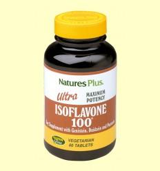 Ultra Isoflavone 100 - Natures Plus - 60 comprimidos