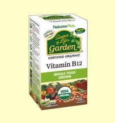 Garden Vitamina B12 - Natures Plus - 60 cápsulas