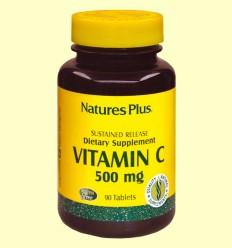Vitamina C con escaramujo - Natures Plus - 90 comprimidos