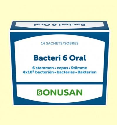 Bacteri 6 Oral - Bonusan - 14 sobres