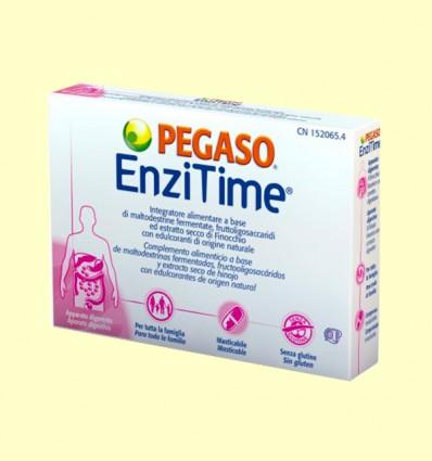 Enzitime - Enzimas Alimentarias - Pegaso - 24 comprimidos