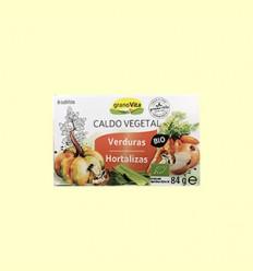 Caldo Vegetal Bio - Granovita - 8 Cubitos - 84 gramos