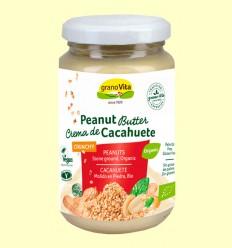 Crema de Cacahuete Crujiente - Granovita - 350 gramos