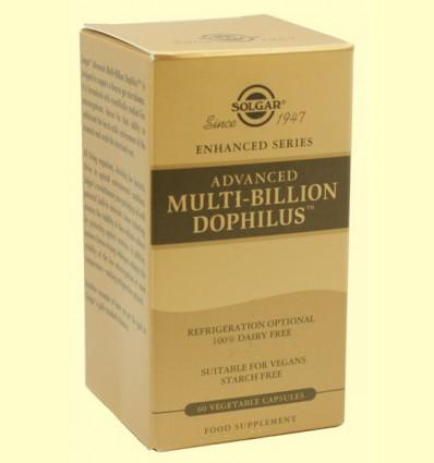 Multi-Billion Dophilus Avanzado - Digestivo - Solgar - 60 cápsulas