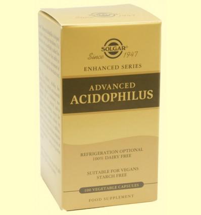 Acidophilus Avanzado - Digestivo - Solgar - 100 cápsulas
