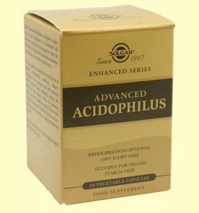 Acidophilus Avanzado - Digestivo - Solgar - 50 cápsulas