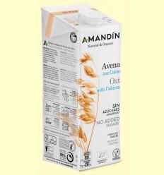 Bebida de Avena con Calcio Bio - Amandin - 1 litro