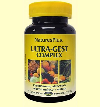 Ultra Gest Complex - Natures Plus - 90 comprimidos