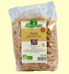 Macarrones Semi Integrales Bio - Lazzaretti - 500 gramos