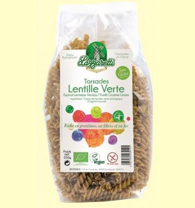 Pasta de Lentejas Verdes Bio - Lazzaretti - 250 gramos