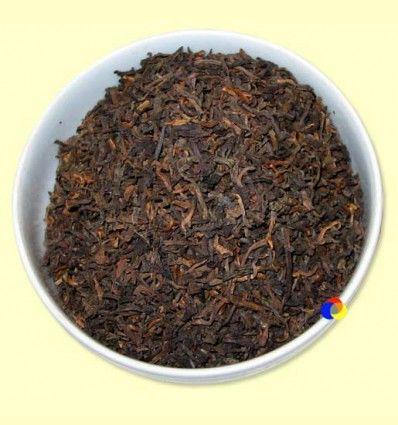 Té Negro Pu-Erh puro de Yunan King of Pu-Erh Categoria II - El Mundo del Té - 100 gramos