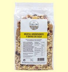 Muesli, Arándanos y Bayas de Goji - Int-Salim - 375 gramos