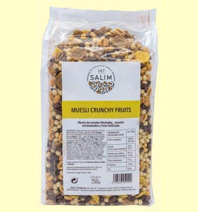 Muesli Crunchy Fruits - Int Salim - 250 gramos