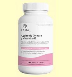 Aceite de onagra y vitamina E - Herbora - 180 perlas