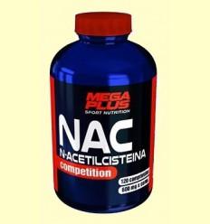 NAC N-Acetilcisteina Competition - Mega Plus - 120 comprimidos