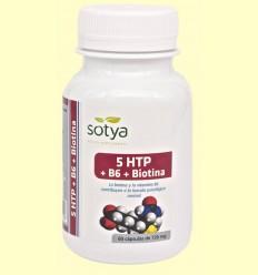 5 HTP + B6 + Biotina - Sotya - 60 cápsulas