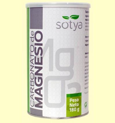 Carbonato de Magnesio - Sotya - 180 gramos