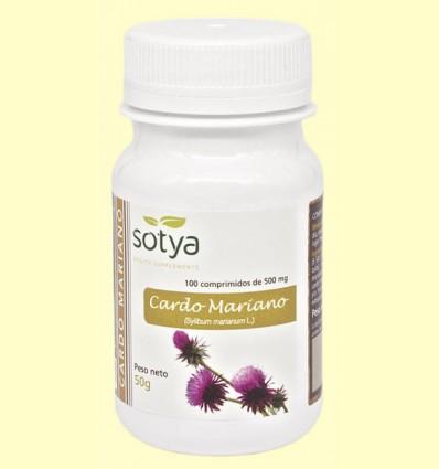 Cardo Mariano - Sotya - 100 comprimidos