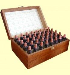 Set Completo Madera Elixires Florales - Plantis - 40 botellitas de elixir de 10 ml