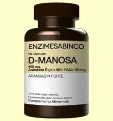 D-Manosa + Arándano Rojo - Enzime Sabinco - 60 cápsulas