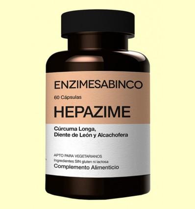 Hepazime - Ayuda para el hígado - Enzime Sabinco - 60 cápsulas