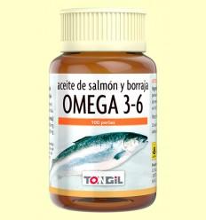 Omega 3-6 - Tongil - 100 perlas