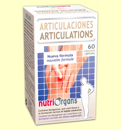 Nutriorgans Articulaciones - Tongil - 60 cápsulas