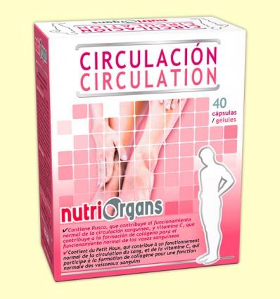 Nutriorgans Circulación - Tongil - 40 cápsulas