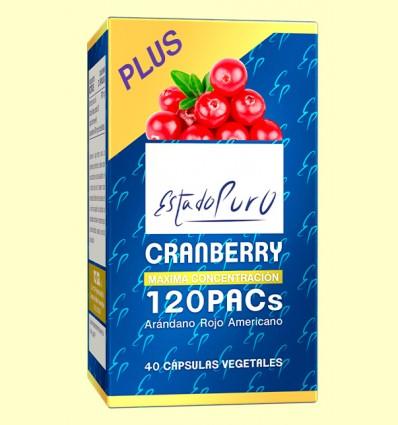 Cranberry 120 PACs - Arándano Rojo - Tongil - 40 cápsulas