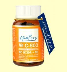 Vitamina C 500 No Ácida y D3 - Tongil - 60 cápsulas