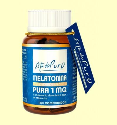 Melatonina Pura 1 mg - Tongil - 180 comprimidos