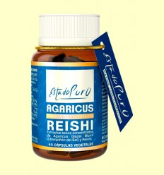 Agaricus Reishi - Tongil - 40 cápsulas