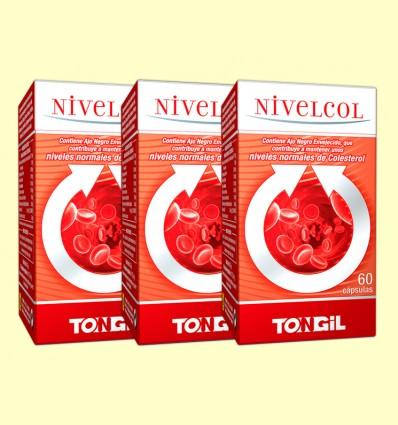 Nivelcol - Colesterol - Tongil - Pack 3 x 60 cápsulas