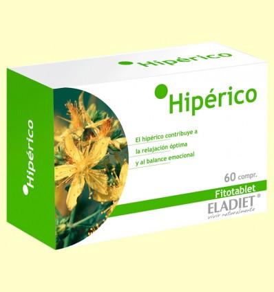 Hipérico Fitotablet - Eladiet - 60 comprimidos de 330 mg