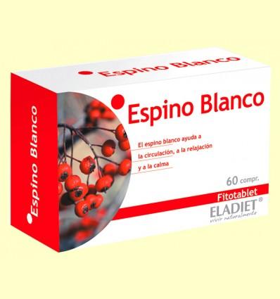 Espino Blanco Fitotablet - Eladiet - 60 comprimidos