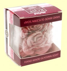 Pastilla Jabón Glicerina forma de Rosa - Biofresh - 70 gramos