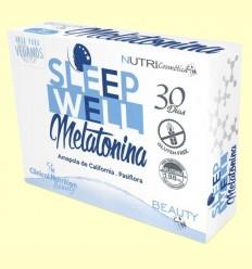 Sleep Well - Melatonina - Clinical Nutrition Beauty - 30 comprimidos