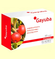 Gayuba Fitotablet - Ayuda a eliminar líquidos - Eladiet - 60 cápsulas