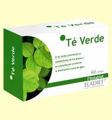 Té Verde Fitotablet - Eladiet - 60 cápsulas