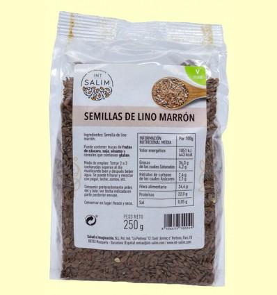 Semillas de Lino Marrón - Int-Salim - 250 gramos