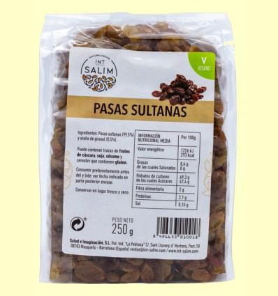 Pasas Sultanas - Int-Salim - 250 gramos