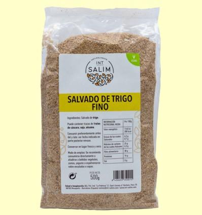 Salvado de Trigo Fino - Int-Salim - 500 gramos