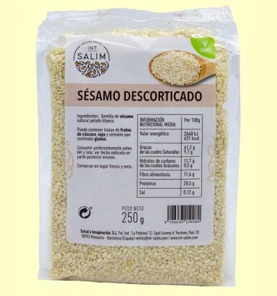 Sésamo Descorticado - Int-Salim - 250 gramos