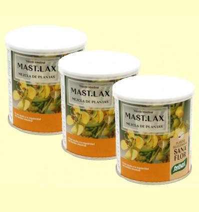 Mast Lax - Sanaflor - Santiveri - pack 3 x 75 gramos