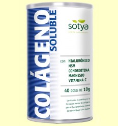 Colágeno Soluble Fresa - Sotya - 400 gramos